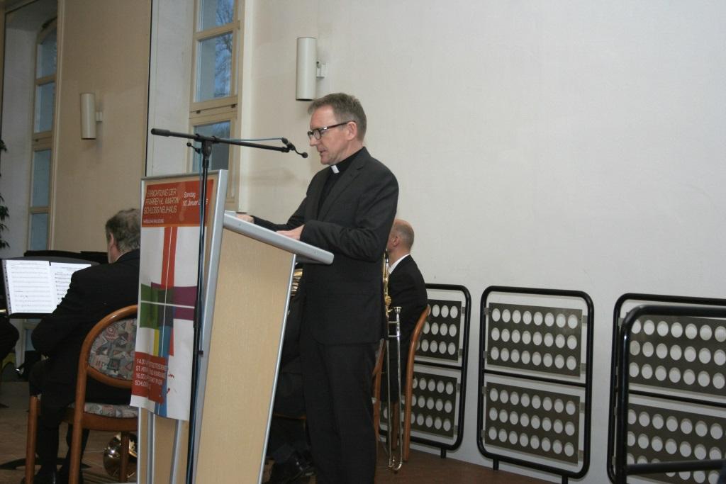 Grußwort - Dechant Benedikt Fischer