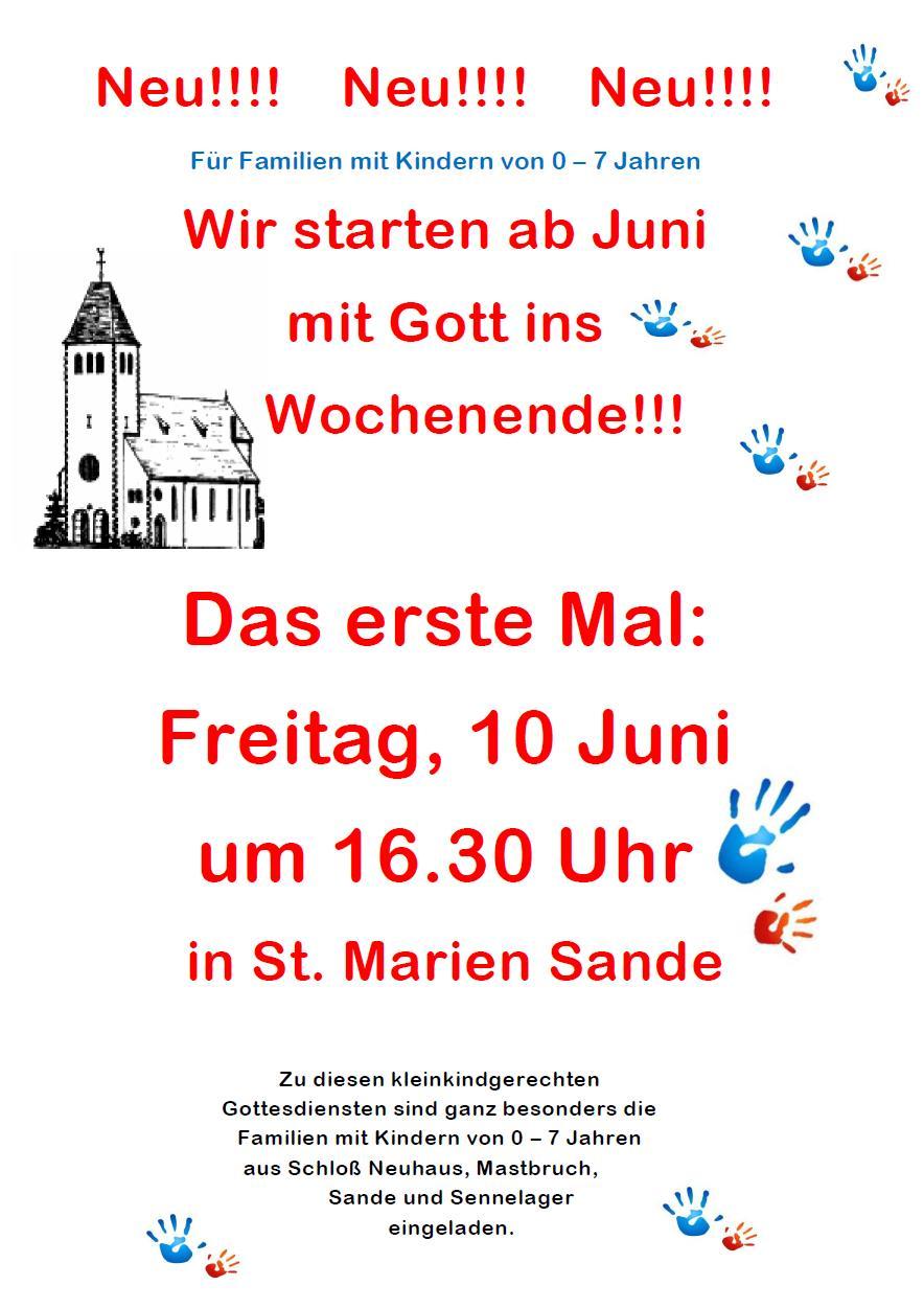 Plakat Famgodis Sande (Juni 2016)