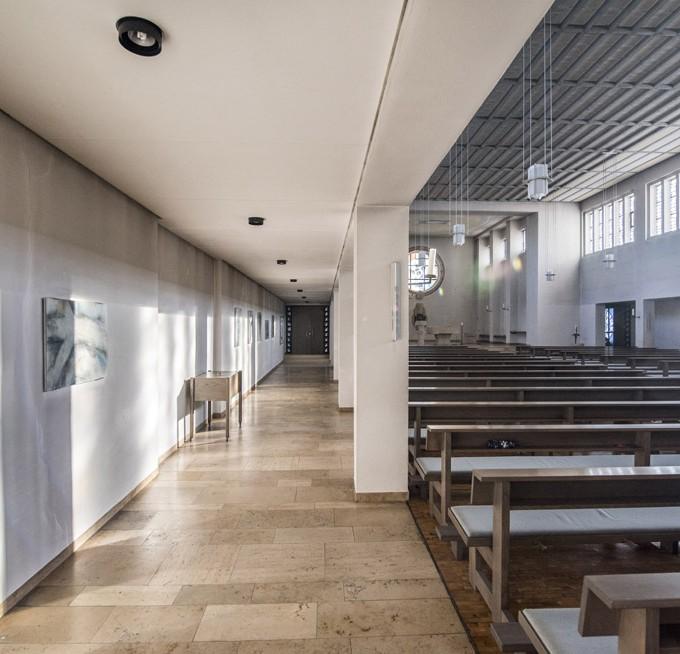 Kirche St. Joseph, Mastbruch, Linkes Seitenschiff