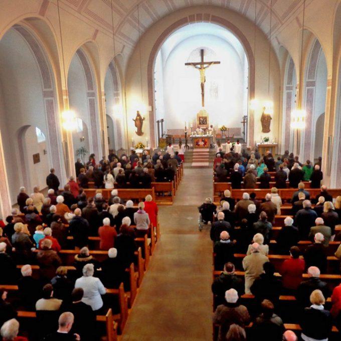 Festhochamt Am Ostermontag 2015 In St. Marien, Sande