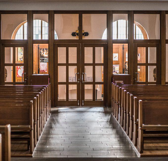 Sande St. Marien, Blick Zum Vorraum