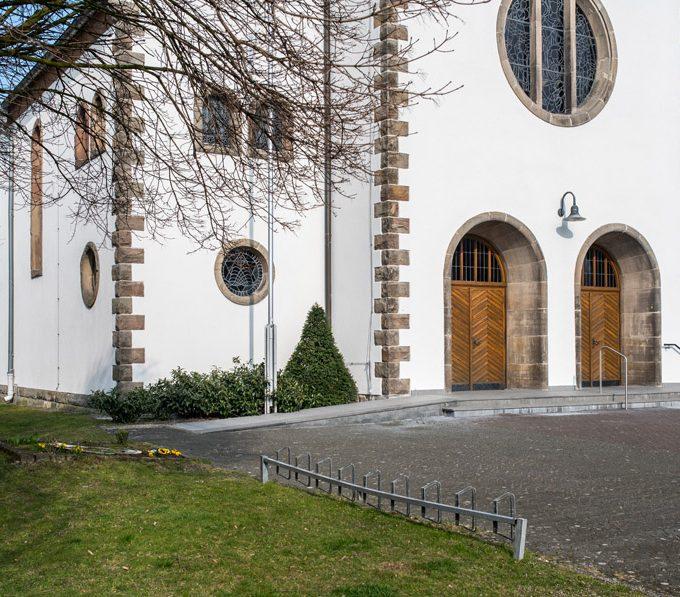Sande St. Marien, Außenansicht Von Nordwest