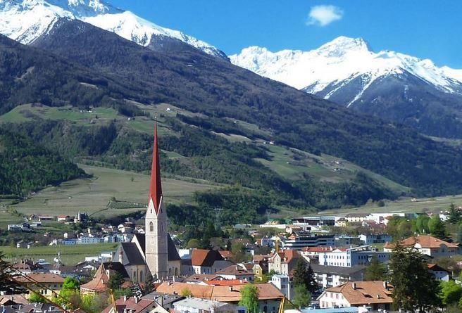 Fahrt Nach Schlanders Südtirol