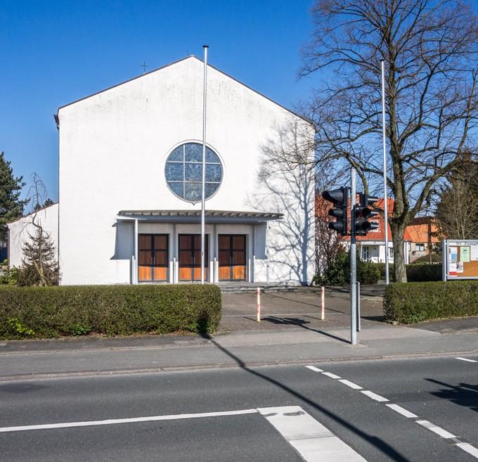 Kirche St. Joseph, Mastbruch, Ansicht Von Südwest