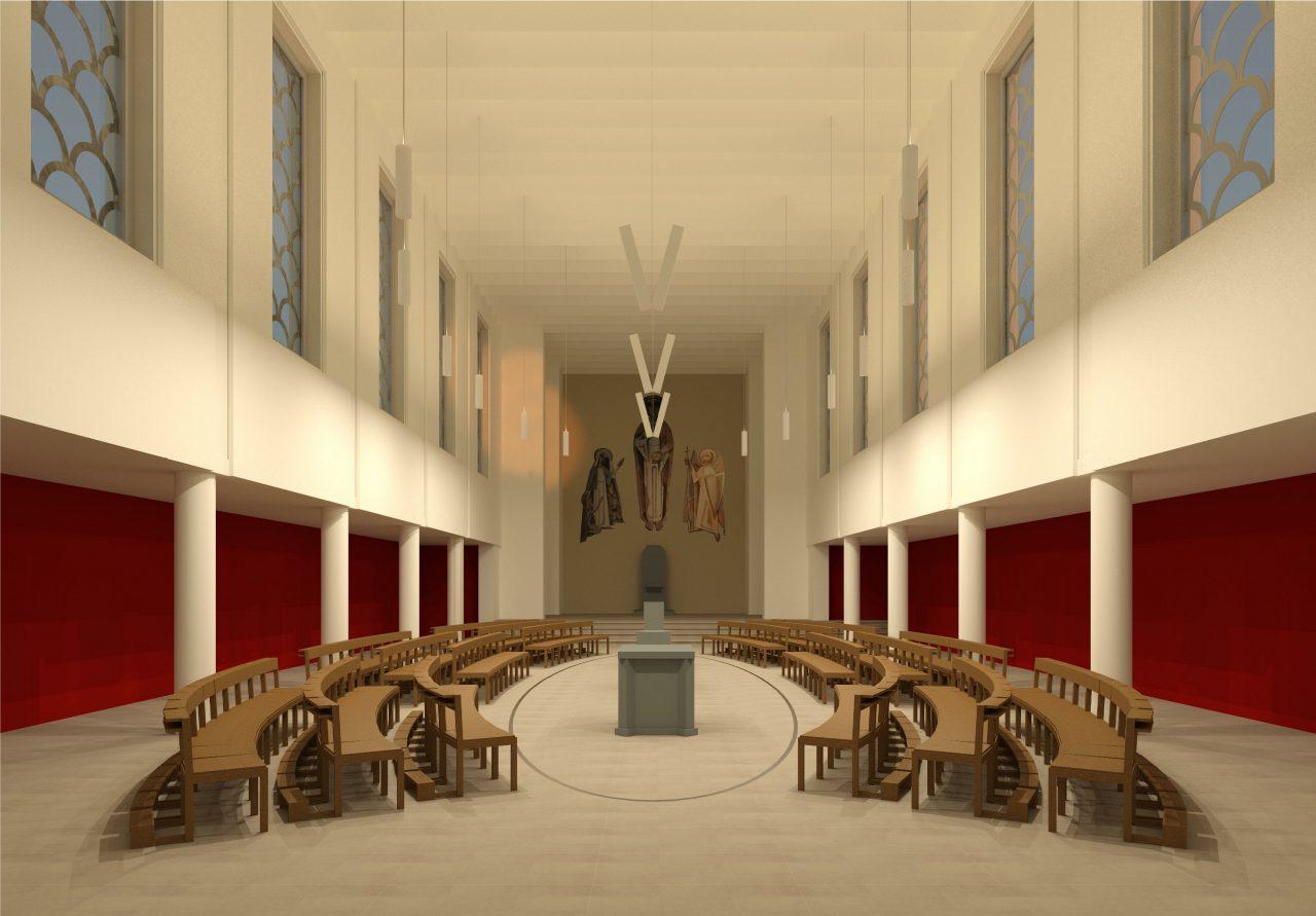 Mehr als ein Zwischenergebnis. So ähnlich könnte es bald in St. Michael aussehen. (© Frank Kellner, Delbrück)