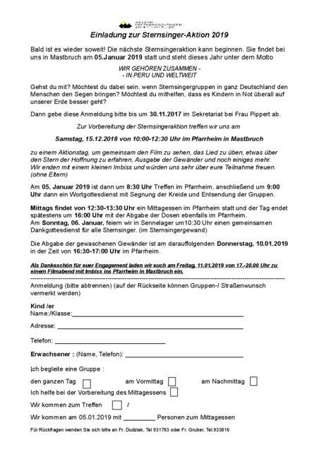 thumbnail of Einladung St. Joseph sternsingeraktion 2019mit filmabend