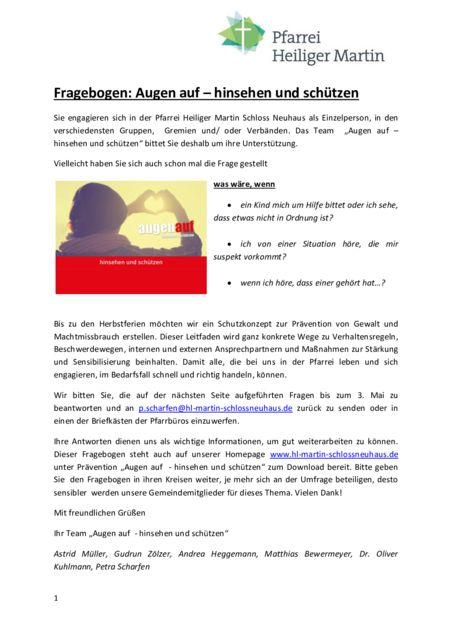 thumbnail of Fragebogen (Hinsehen und Schützen)
