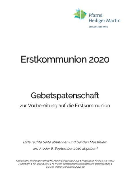 thumbnail of Gebetspatenschaft (2020)