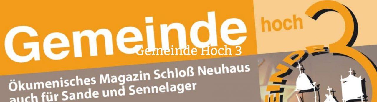 Gemeinde Hoch 3 – Die Neue Ausgabe