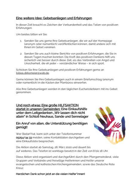 thumbnail of Informationen an die Gemeinden (24.03.2020) Seite 2