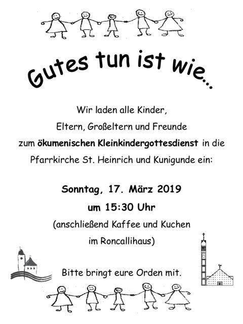 thumbnail of Kleinkindergottesdienst im März 2019
