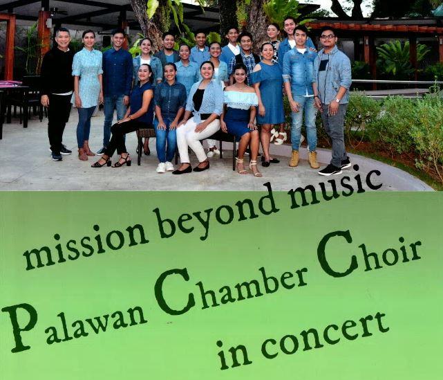 "Palawan Chamber Choir ""MISSION BEYOND MUSIC"" Am Freitag, 15. Juni"