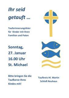 thumbnail of Plakat Tauferinnerungsfeier