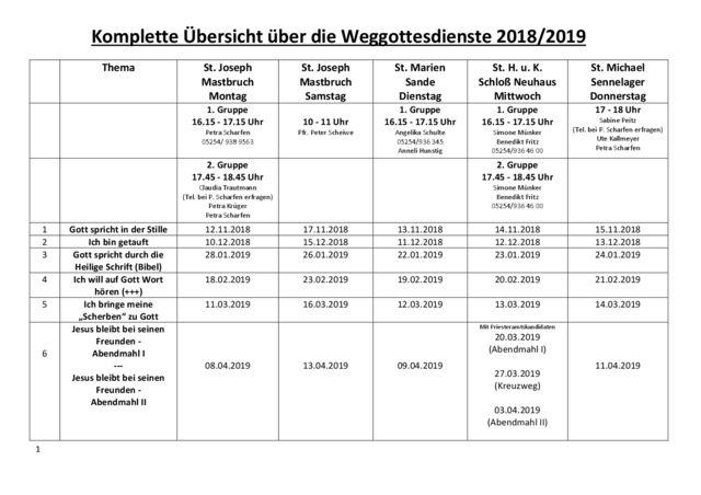 thumbnail of Weggottesdienste Termine EK 2019 – neu10.18